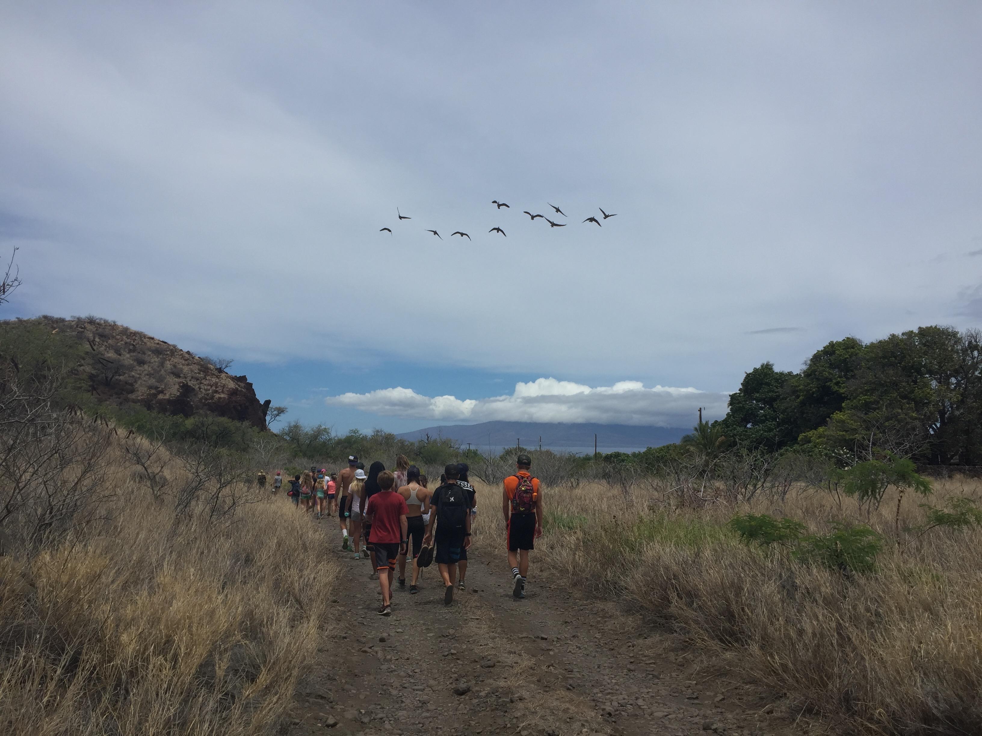 OCR Hike w/ Nene