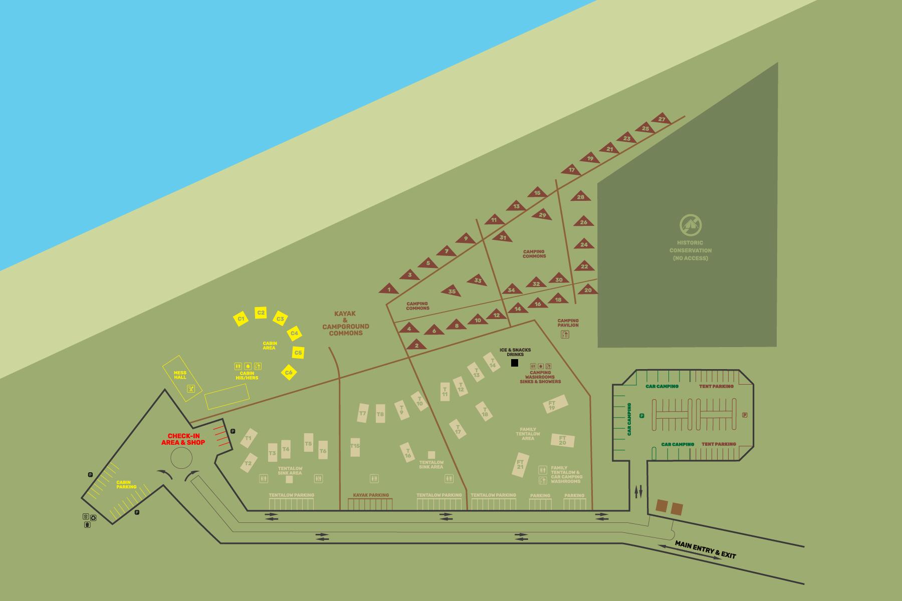 Camp Olowalu Campground